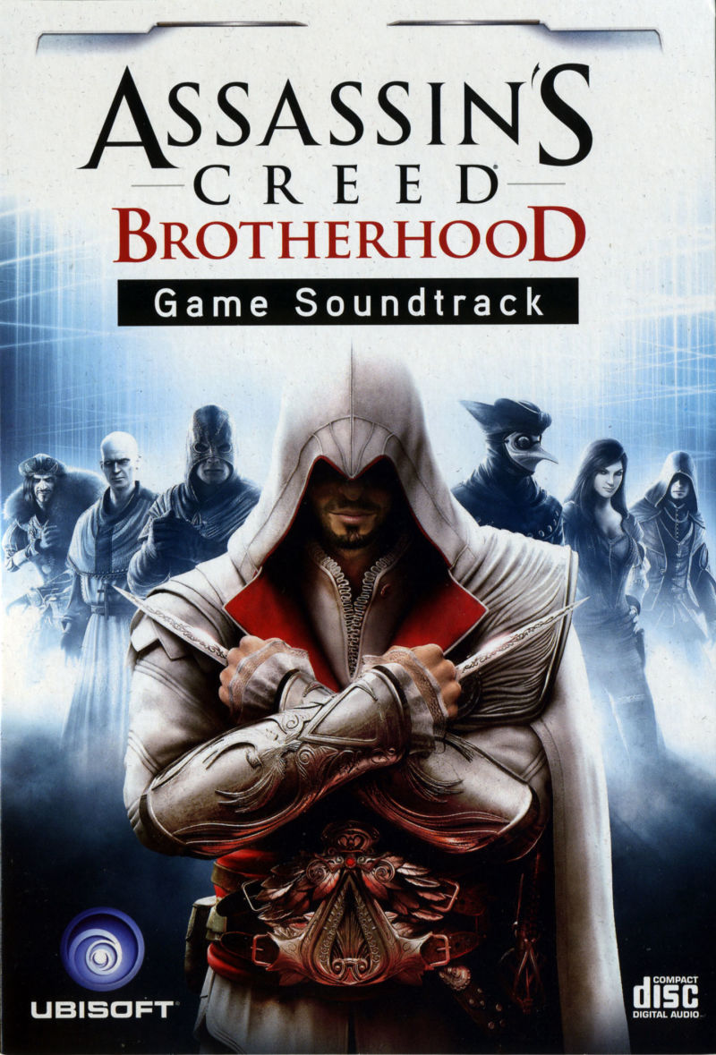 Assassin's Creed: Brotherhood (Codex Edition) PlayStation 3 Other Soundtrack - Front