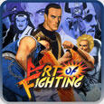 Art of Fighting PlayStation 3 Front Cover