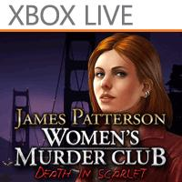 Women's Murder Club: Death in Scarlet Windows Phone Front Cover