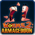 Worms 2: Armageddon PlayStation 3 Front Cover