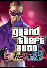 Grand Theft Auto: The Ballad of Gay Tony Windows Front Cover