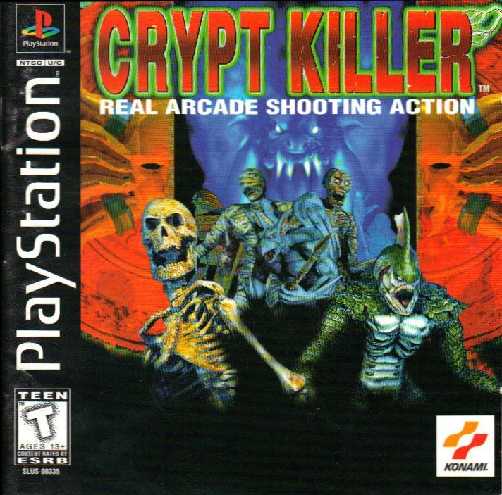 Crypt Killer PlayStation Front Cover