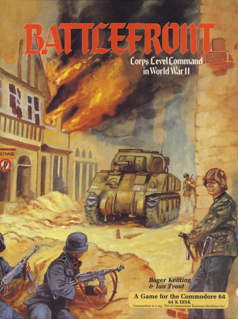 Battlefront Commodore 64 Front Cover