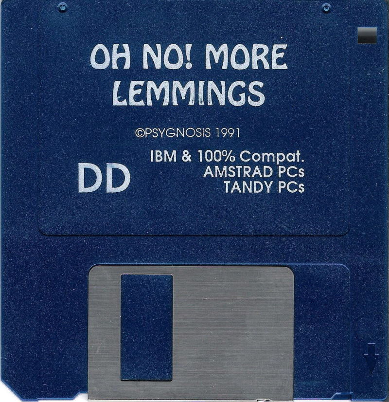 "Oh No! More Lemmings DOS Media 3.5"" Disk (1/1)"