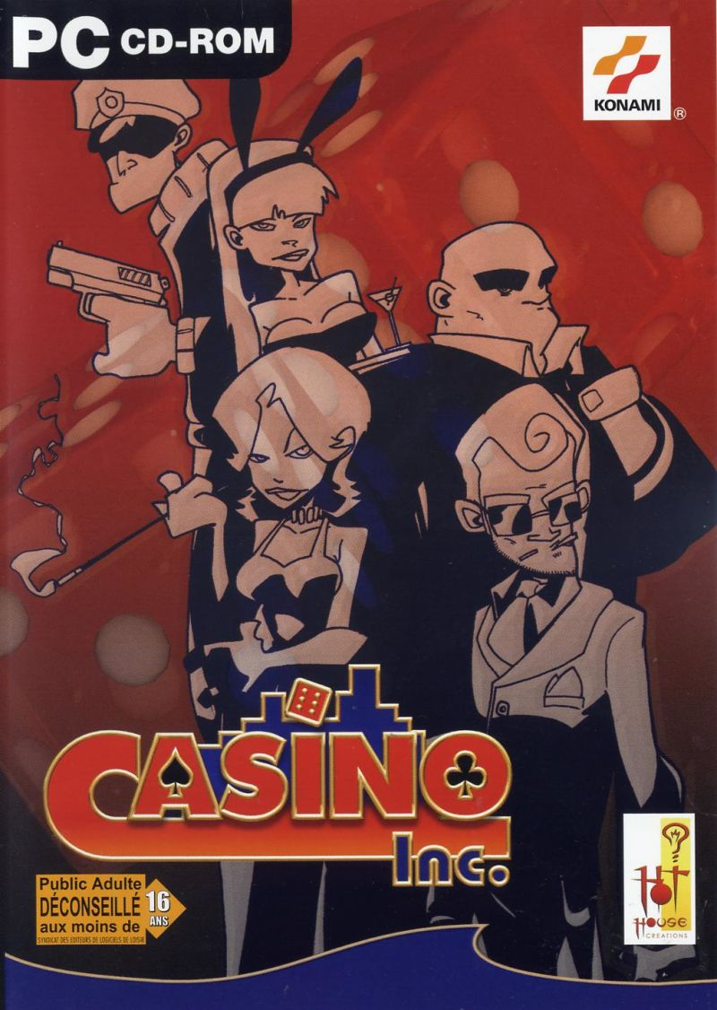 Casino Inc. Windows Front Cover
