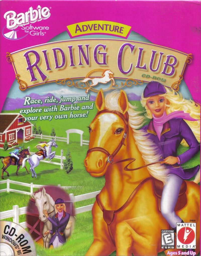 Barbie Adventure: Riding Club Windows Front Cover