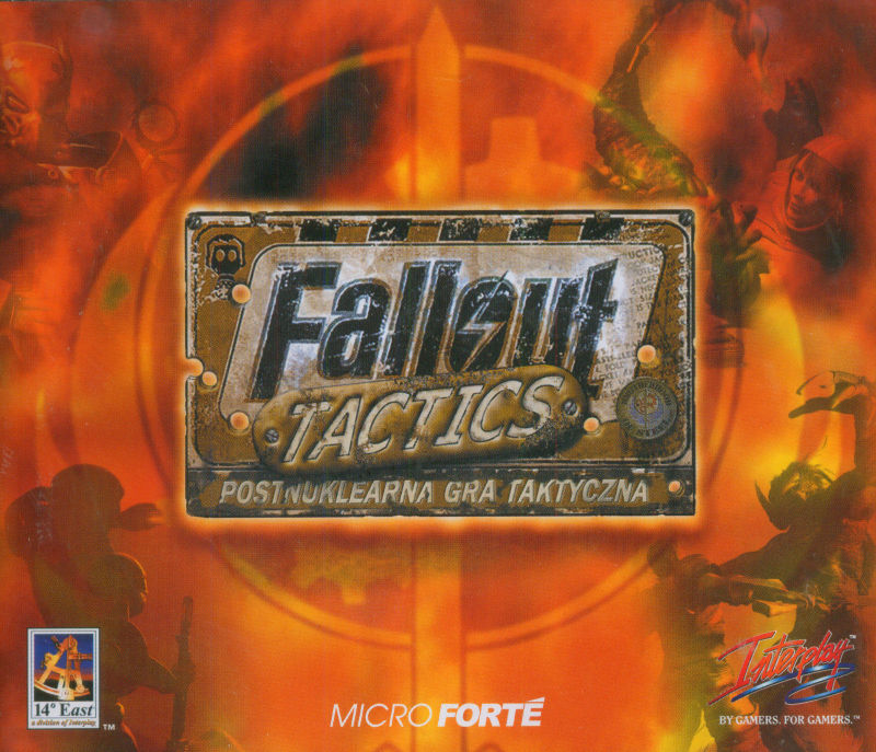 Fallout Tactics: Brotherhood of Steel  Windows Other Jewel case - front cover