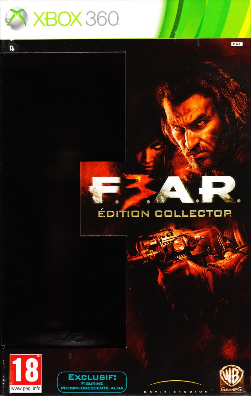 F.3.A.R. (Collector's Edition) Xbox 360 Front Cover