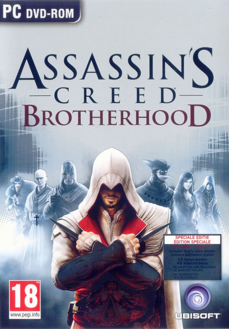 Assassin's Creed: Brotherhood Windows Front Cover