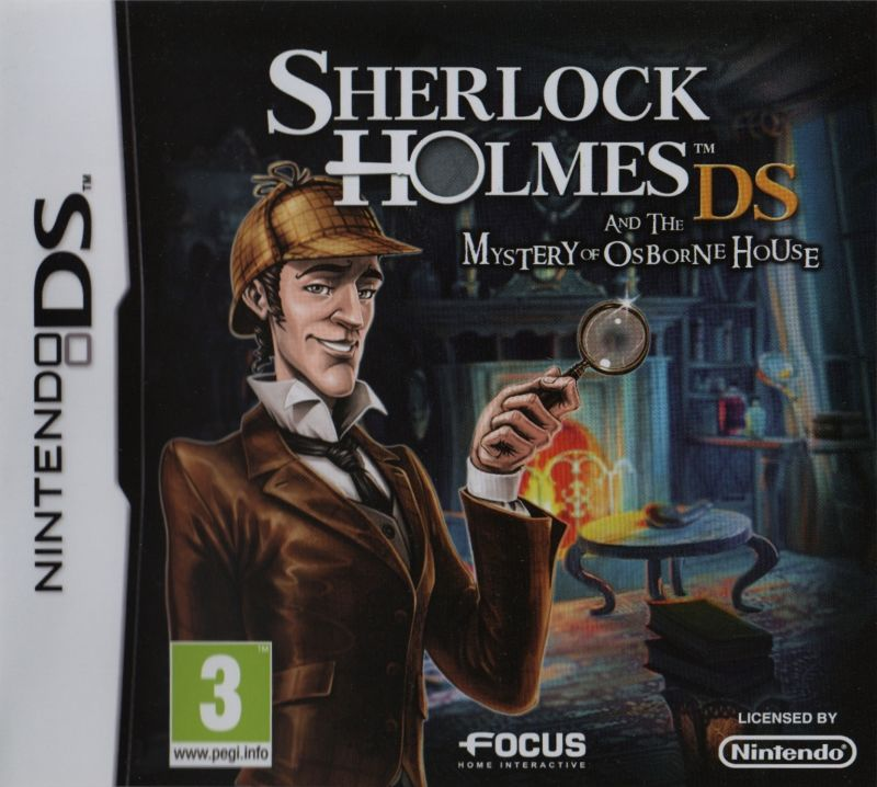 Sherlock Holmes DS and the Mystery of Osborne House Nintendo DS Front Cover