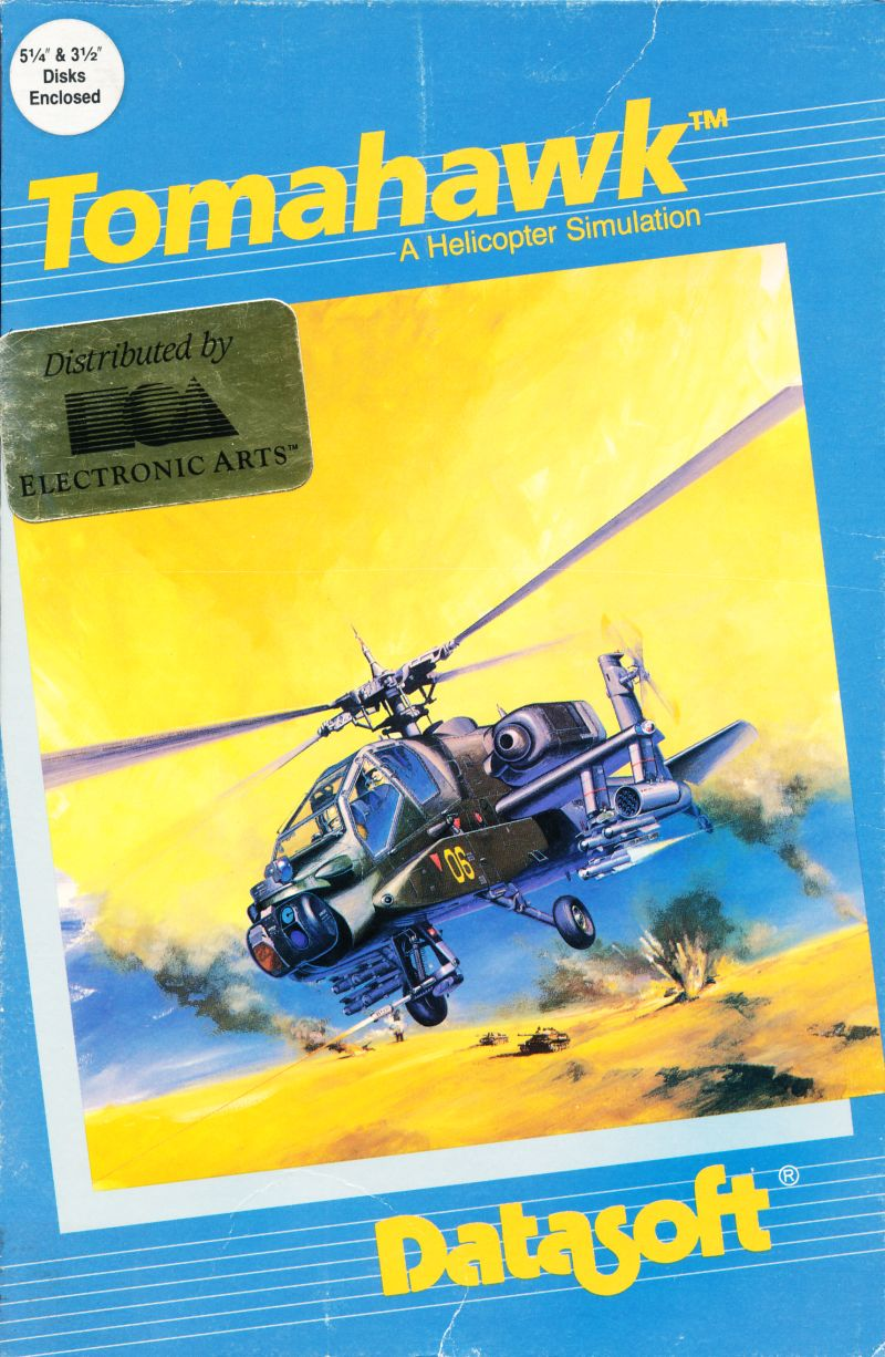 Tomahawk DOS Front Cover