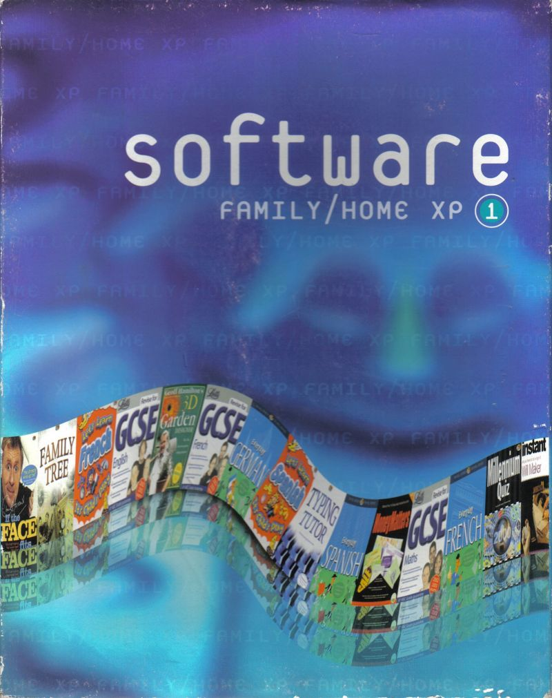 Software: Family/Home XP 1 Windows Front Cover