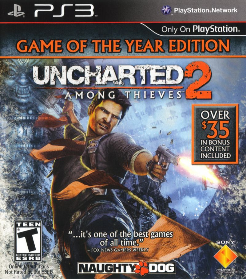 Uncharted 2: Among Thieves - Game of the Year Edition ...Uncharted 2 Among Thieves Cover