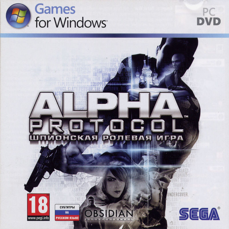 Alpha Protocol Windows Other Jewel Case Front Cover