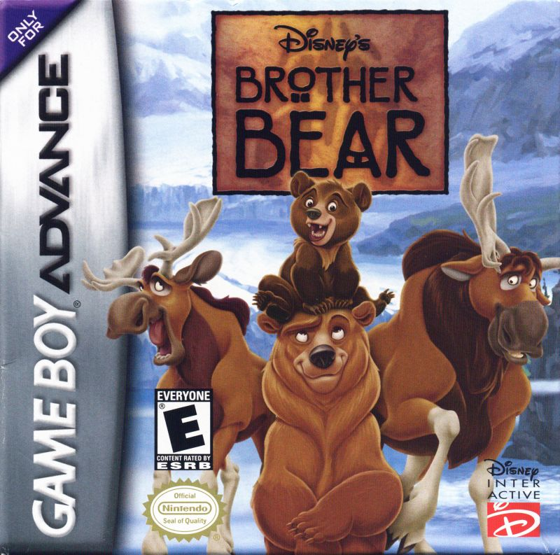 Disney's Brother Bear Game Boy Advance Front Cover