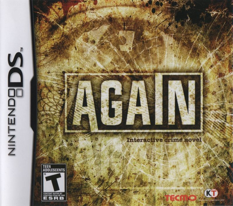 Again Nintendo DS Front Cover