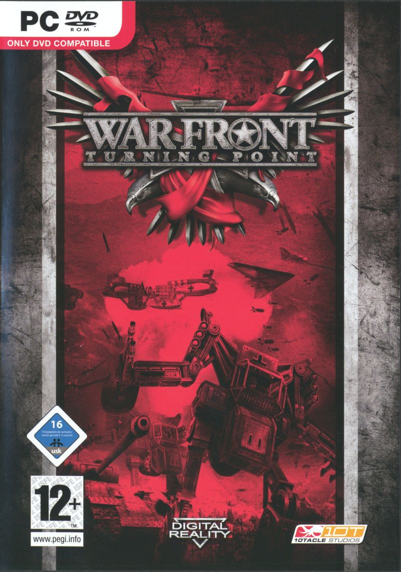 War Front: Turning Point Windows Front Cover