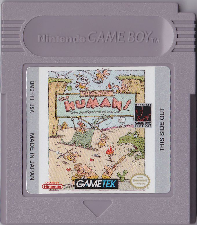 the humans game boy media