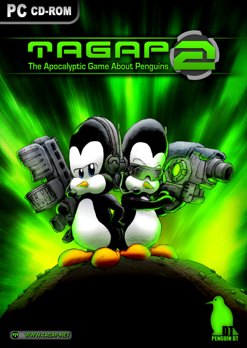 TAGAP 2: The Apocalyptic Game About Penguins 2 Windows Front Cover