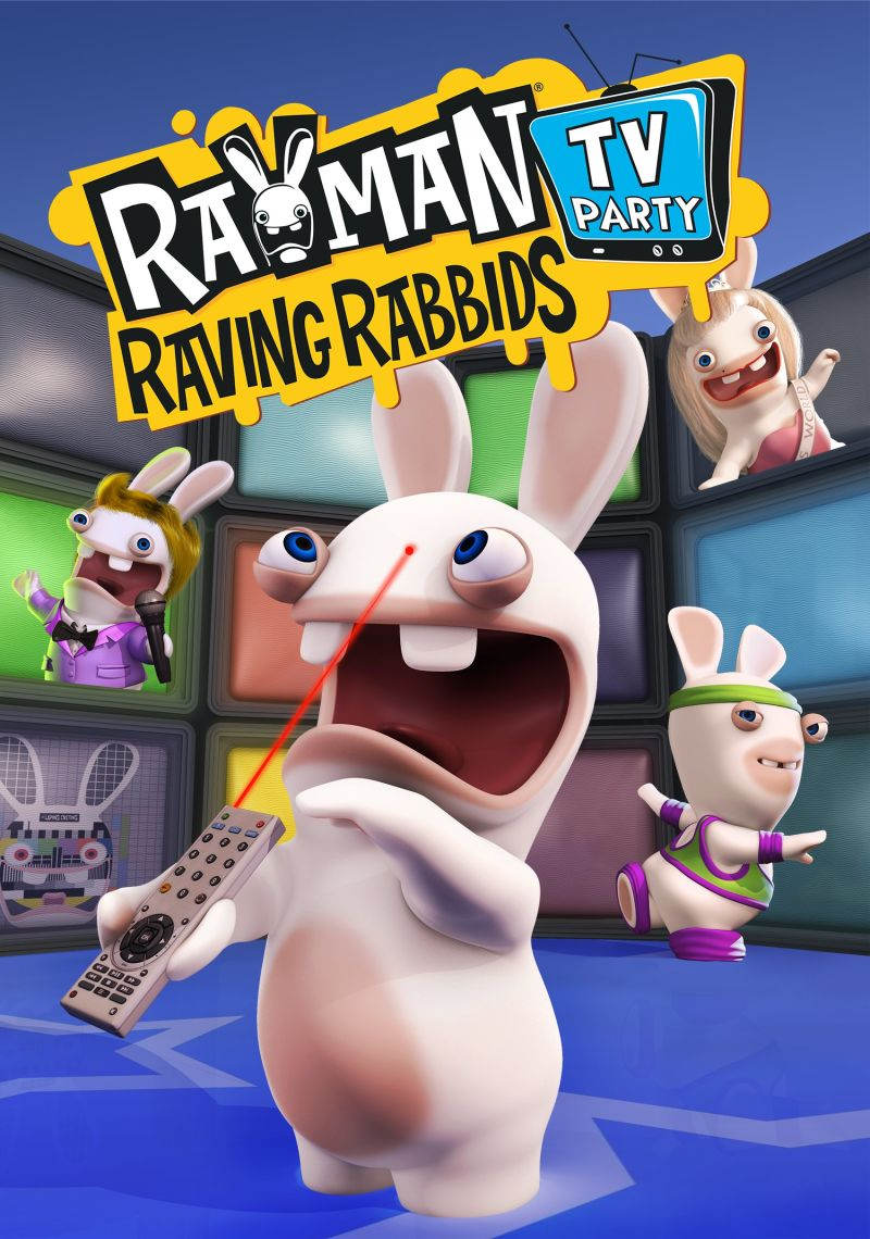 Rayman Raving Rabbids TV Party J2ME Front Cover