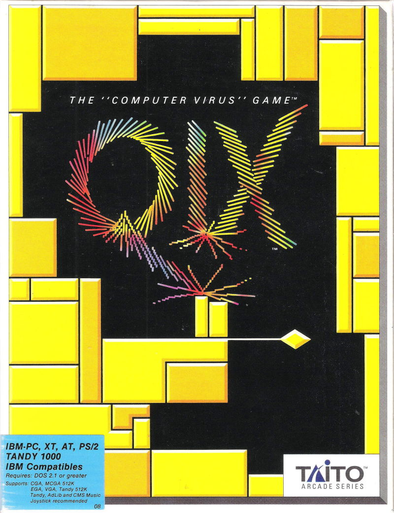 QIX DOS Front Cover