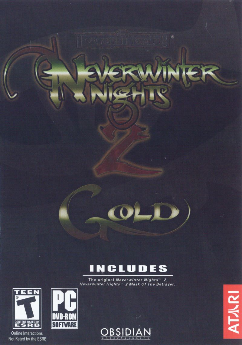 Neverwinter Nights 2: Gold Windows Front Cover