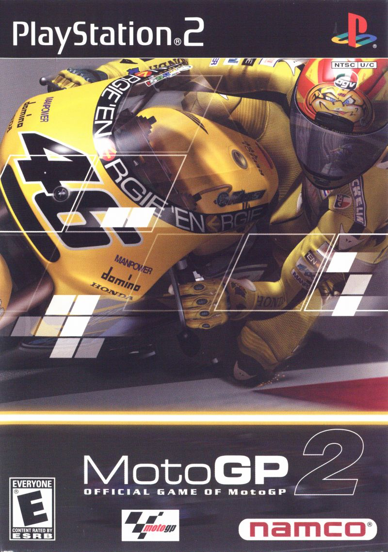 MotoGP 2 (2001) PlayStation 2 box cover art - MobyGames