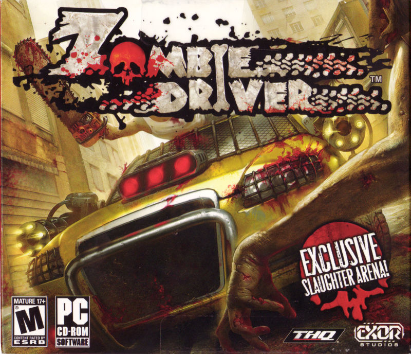 Zombie Driver Windows Front Cover