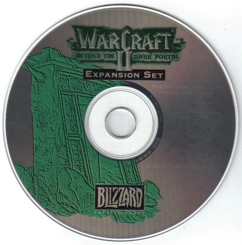 Warcraft II: Battle Chest DOS Media Disc 2 - Beyond The Dark Portal