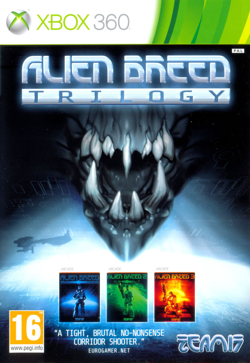 Alien Breed Trilogy Xbox 360 Front Cover