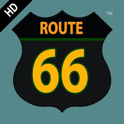 Route 66 iPad Front Cover