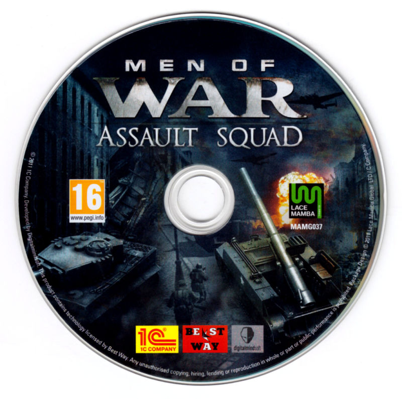 Men of War: Assault Squad Windows Media
