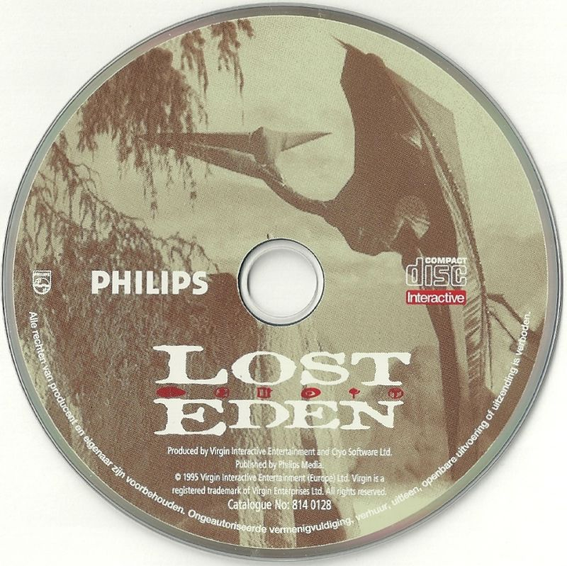 Lost Eden CD-i Media