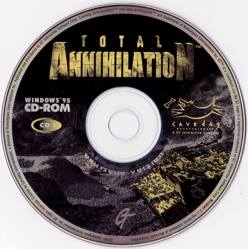 Total Annihilation Windows Media Disc 1