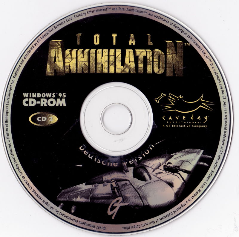 Total Annihilation Windows Media Disc 2