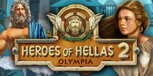 Heroes of Hellas 2: Olympia Windows Front Cover