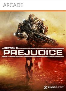 Section 8: Prejudice Xbox 360 Front Cover
