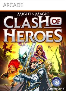 Might & Magic: Clash of Heroes Xbox 360 Front Cover
