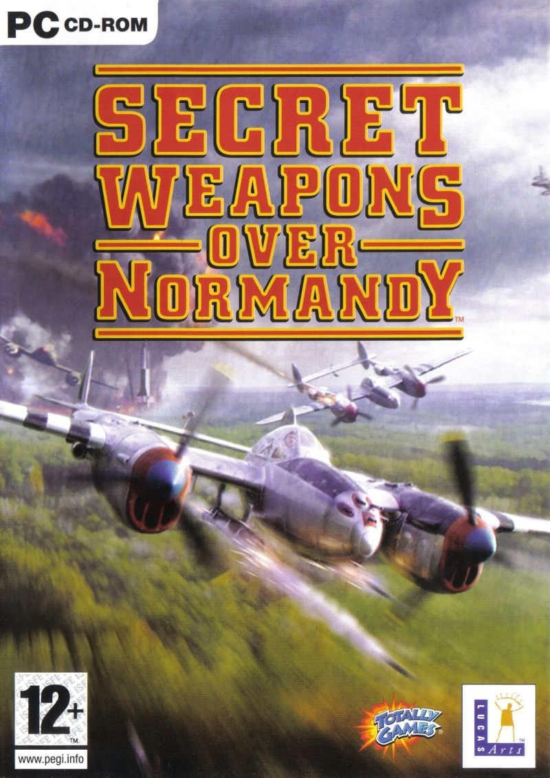 Secret Weapons Over Normandy Windows Front Cover