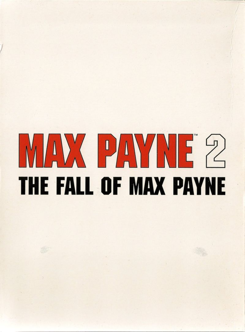 Max Payne 2: The Fall of Max Payne Windows Other Digipak - Outside Right