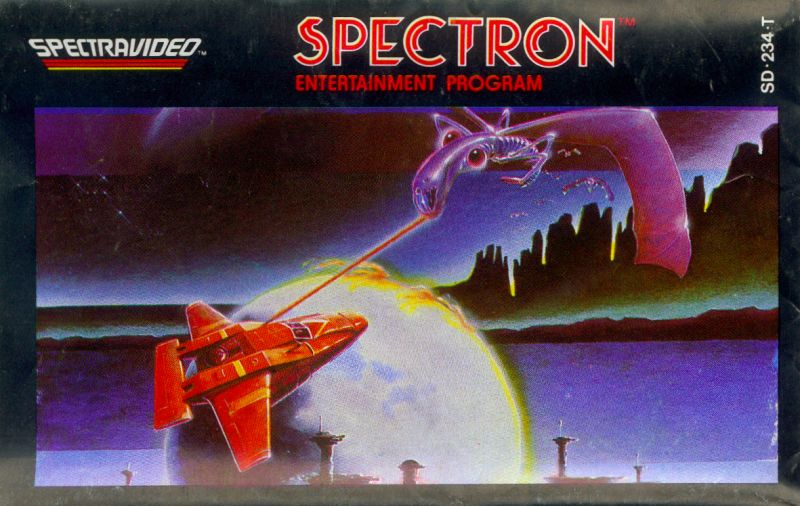 Spectron Spectravideo Front Cover