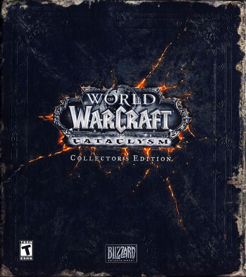 World of Warcraft: Cataclysm (Collector's Edition) Macintosh Front Cover