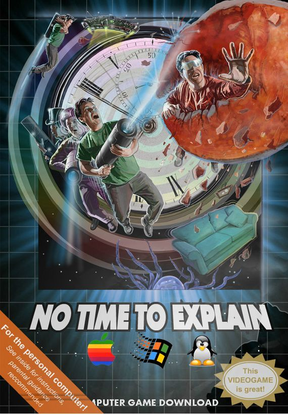 No Time To Explain Linux Front Cover