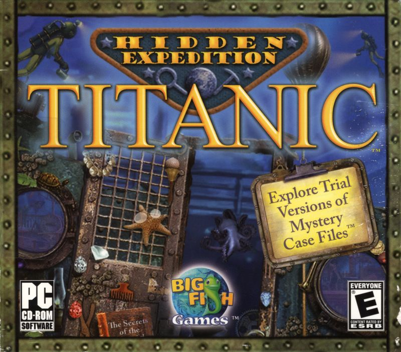 Hidden Expedition: Titanic Windows Front Cover