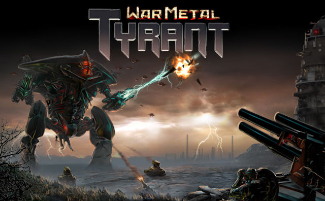 War Metal: Tyrant Browser Front Cover