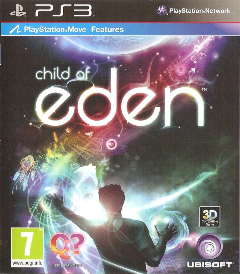Child of Eden PlayStation 3 Front Cover