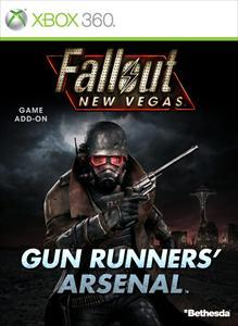 Fallout: New Vegas - Gun Runners' Arsenal Xbox 360 Front Cover
