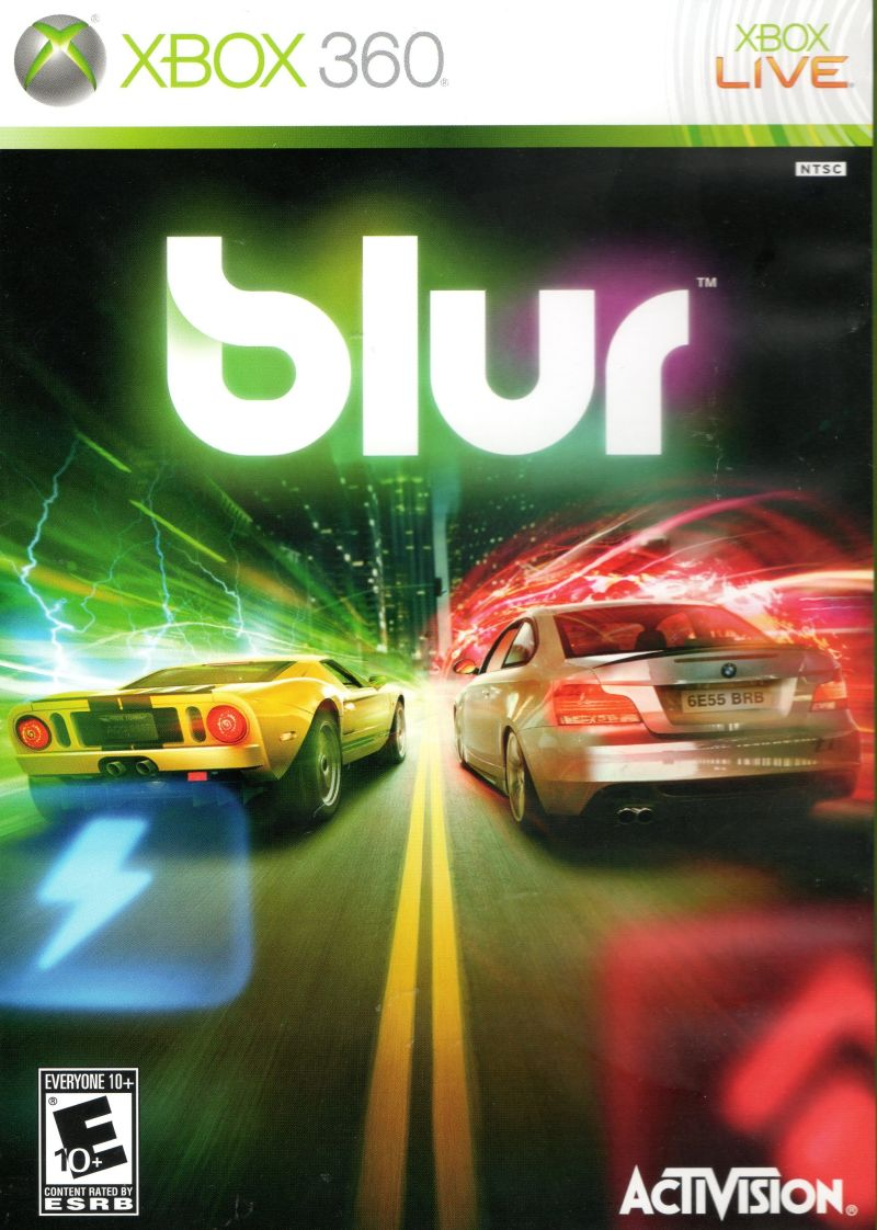 Blur Xbox 360 Front Cover