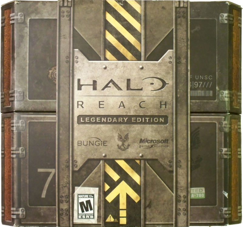 Halo: Reach (Legendary Edition) Xbox 360 Front Cover