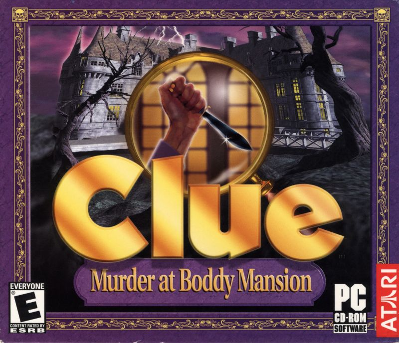 Clue: Murder at Boddy Mansion Windows Front Cover